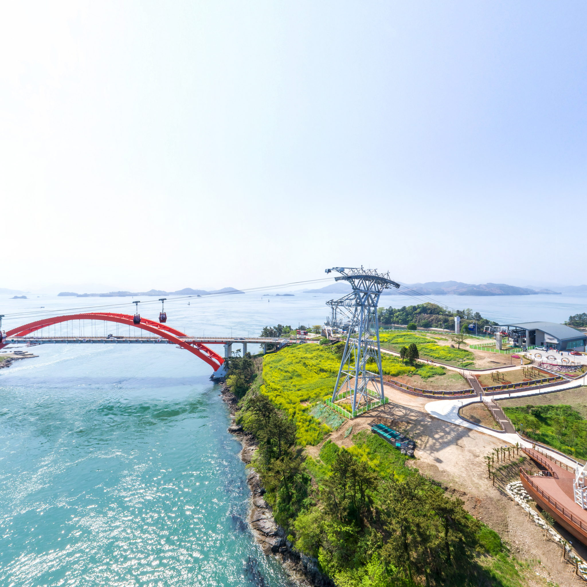 Sacheon Ocean Cable Car file Image